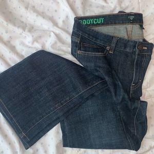 J. Crew Bootcut Jeans Sz 29